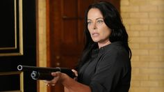 No stranger to Syfy - Polly Walker- of Caprica and Sanctuary fame is now a familiar face to Warehouse fans as Charlotte Dupres, the bad ass who blew Professor Sutton's cover and won't stop until she gets the artifact she's after...
