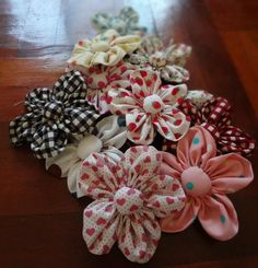 Mama's Flower clips.