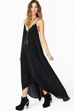 Lily Silk Maxi Dress by #Faddoul