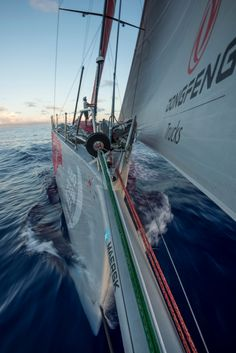 April 24, 2015. Leg 6 to Newport onboard Dongfeng Race Team. Day Sam Greenfield / Dongfeng Race Team / Volvo Ocean Race