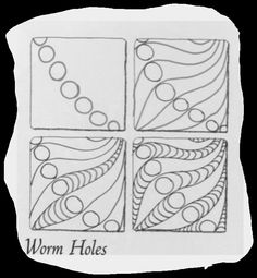 Tangle Worm Holes