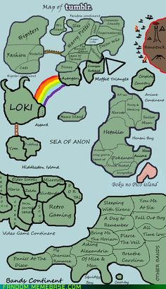 Can we all appreciate Hiddleston island!!! Habab....but I think CumberCove/ Cumberland should be equally as large