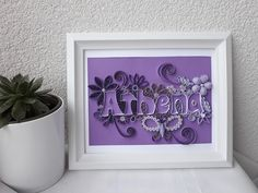 This is how you can use quilling art to decorate your wall or shelves in your home. This is quilled art for kids room. Quilling Art, Gifts For Kids, Art For Kids, Kids Room, Shelves, Frame, Wall, Home Decor, Presents For Kids