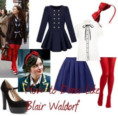 blair waldorf inspired outfits!