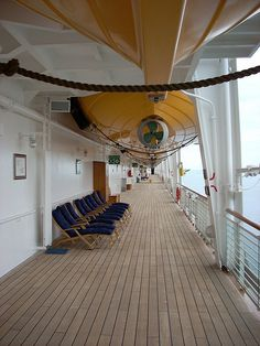 Relax or exercise on Deck 4 of the Disney Wonder?  Disney Wonder | Flickr - Photo Sharing!