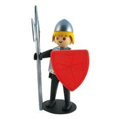 PLAYMOBIL Le chevalier noir Leblon-Delienne