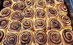 Ρολάκια κανέλας με γλασο βανίλιας Pie, Cooking, Desserts, Recipes, Food, Pinkie Pie, Cucina, Tailgate Desserts, Deserts
