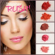 Have you experienced the Moodstruck Minerals Blusher RUSH? 100% mineral based. 100% chemical free. 100% must have.