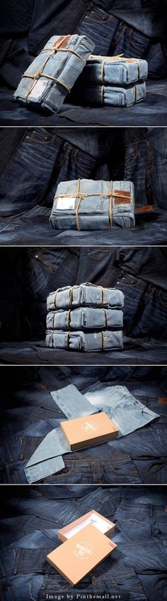 Mustang #Jeans | Very nice limited edition #packaging designed by Korefe, Germany