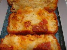 cake au chorizo et au maroilles (de sophie dudemaine)