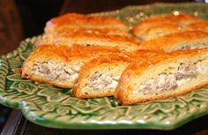 Sausage Crescent Rolls: Made them twice in a matter of days.  Easy and good--breakfast or as an appetizer.