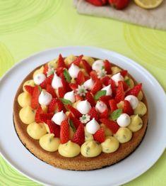 Fantastik à la fraise, citron et basilic