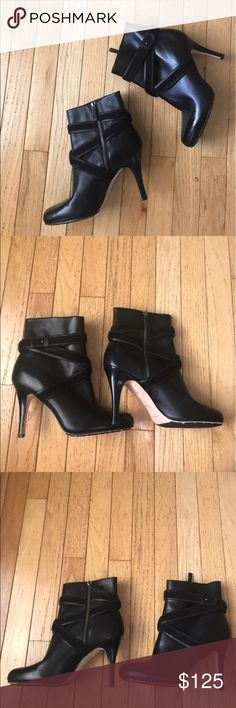"NWOT Cole Haan Air Talia Short Boots Excellent condition, never worn! Heel height is 4"". Cole Haan Shoes Ankle Boots & Booties"