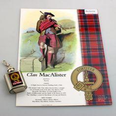 Clan A4 Laminated Print