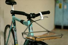 Fixed gear cool front rack