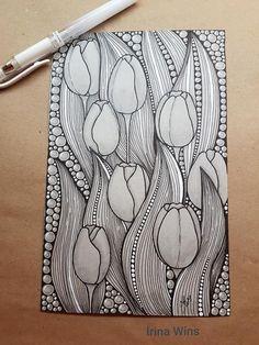 flower doodles easy zentangle patterns \ flower doodles easy , flower doodles easy step by step , flower doodles easy zentangle patterns , flower doodles easy to draw , flower doodles easy rose Easy Doodle Art, Doodle Art Drawing, Zentangle Drawings, Cool Art Drawings, Doodling Art, Drawing Ideas, Art Zen, Zantangle Art, Stylo Art