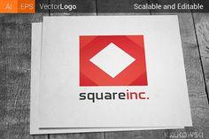 Square Logo by Krukowski Graphics on @creativemarket