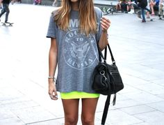 Dressed up casual tees.
