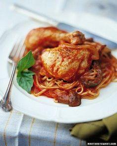 Make it in a Dutch Oven // Chicken Cacciatore Recipe