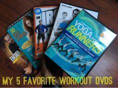 My 5 Favorite Workout DVDs - kookyrunner.com
