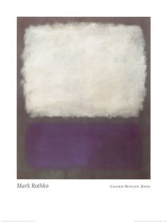 Blue and Grey Mark Rothko Print
