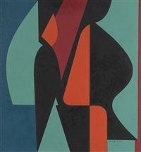 Allan by Victor Vasarely