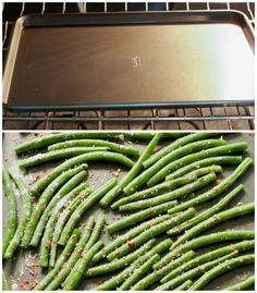 How to make crispy roasted Green Beans
