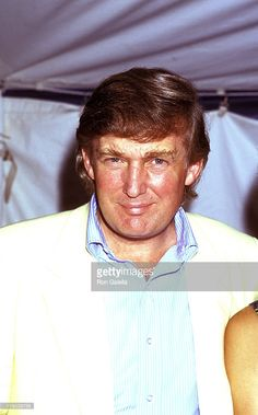 Donald Trump during 1991 Pathmark Tennis Classic - July 20, 1991 at Ramapo College in New York City, New York, United States.