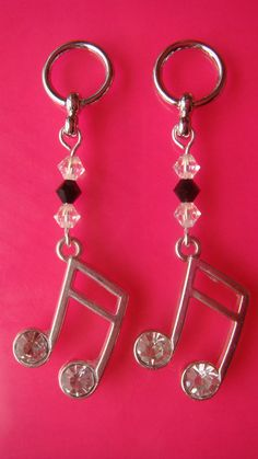 Hearing aid charms.  What an awesome way to dress them up!