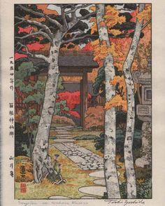 ARTMEMO Toshi Yoshida - Sangetsu-an, Hakone Museum