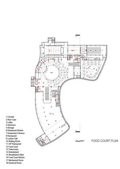 ARG Shopping Mall,Food court Plan