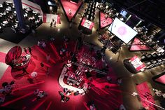 LE MIAIM 2014 show design by JAMES SPRAWSON, via Behance