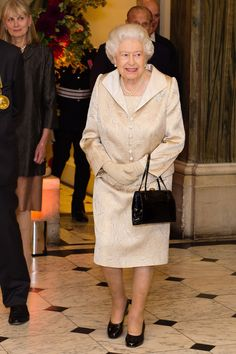 Queen Elizabeth II Photos Photos - The Queen and Duke of Edinburgh Attend an Awards Ceremony at The Royal Academy of Arts - Zimbio