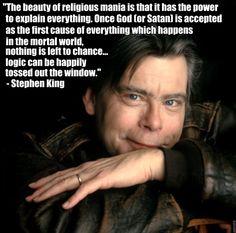 Stephen King, atheist