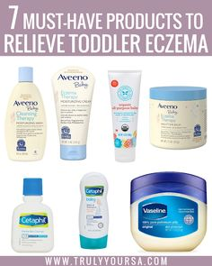 7 Must-Have Products to Relieve Toddler Eczema – Truly Yours, A. 7 Must-Have Products to Relieve Toddler Eczema – Truly Yours, A. Skin Care Treatments, Baby Skin Care, Baby Care, Dry Skin Remedies, Eczema Remedies, Toddler Eczema, Baby Life Hacks, Newborn Schedule, Bath
