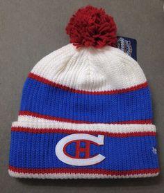 e8b3c73d4e7 2016 HIVERNALE CLASSIQUE WINTER CLASSIC POM BEANIE Montreal Canadiens  Men Women  Reebok  MontrealCanadiens