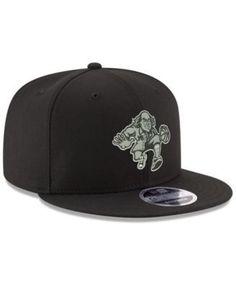 New Era Philadelphia 76ers Black on Shine 9FIFTY Snapback Cap - Black  Adjustable New Era Cap fdd5a7491f8