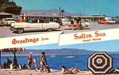 Kris Arnold is raising funds for Abandoned USA - Trip to the Salton Sea on Kickstarter! Original formed in and rising to prominence as a resort town in the and The Salton Sea has been on a steady decline. Salton Sea California, Lakes In California, Vintage California, Southern California, Coachella Valley, Ghost Towns, Abandoned Places, Travel Usa, Deserts