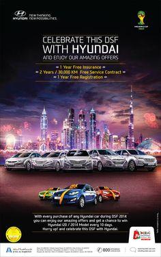 HYUNDAI DSF CAMPAIGN by Icon Advertising & Design FZ LLC, via Behance