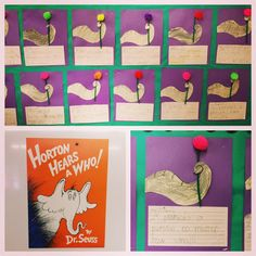 "Apples and ABC's: ""Horton Hears a Who"" Writing and Craft"