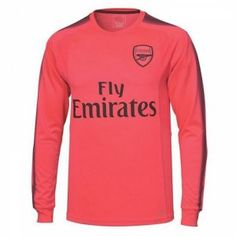 2017 Cheap Goalie Jersey Arsenal LS Replica Pink Shirt [AFC634]