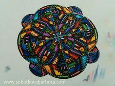 • MANDALA • ✍❤🎨📏📐 #mandala #art #original #handmade #markers #relax #meditation #czech #dowhatyoulove #compasses #color #energy #power #balance  #geometry #ruler #mindfulness #followme ❤