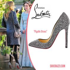 Blake Lively in Christian Louboutin - ShoeRazzi