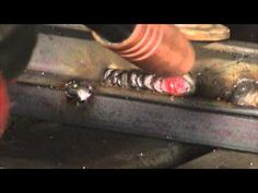 MIG WELDING WITH AND WITHOUT GAS - WHAT WELDS LOOK LIKE IF YOU RUN OUT OF GAS - YouTube