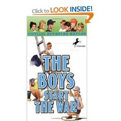 The Boys Start the War (Boy/Girl Battle): Phyllis Reynolds Naylor: 9780440418412: Amazon.com: Books