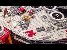 LEGO Han & friends build the Falcon