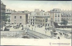 MURCIA. (Postales - España - Murcia Antigua (hasta 1.939)) Paris Skyline, Spain, Antique, Travel, Vintage Postcards, Antique Photos, Old Bridges, 19th Century, Cities