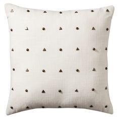 "Nate Berkus™ Decorative Pillow with Studs - 18x18"""
