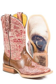 Tin Haul Women's Boots - Heart