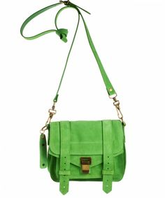 Proenza Schouler PS1 Pouch Suede - Pouch - Shoulder Bags - Shop Online